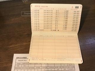 給料支払明細書の写真・画像素材[2372865]
