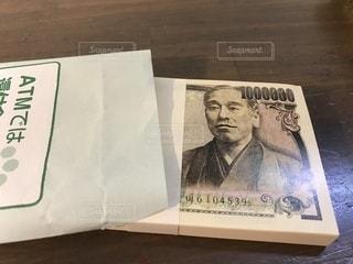 100万円メモ帳の写真・画像素材[2373082]