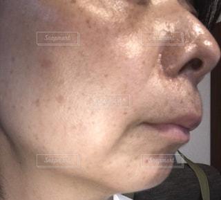 40代女性 素肌の写真・画像素材[2493188]
