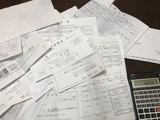 医療費控除計算の写真・画像素材[2794955]