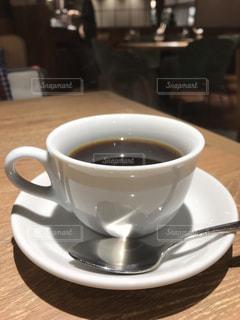 モーニングコーヒーの写真・画像素材[2014416]