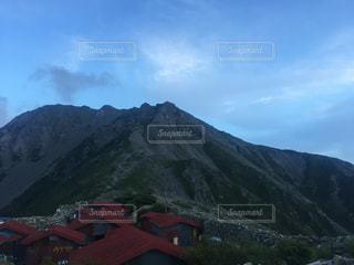 農鳥小屋から農鳥岳を見るの写真・画像素材[2003955]