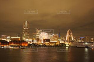 横浜の夜景の写真・画像素材[2018060]