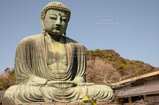 鎌倉の大仏の写真・画像素材[2018287]