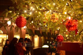 クリスマスツリー下部の写真・画像素材[2042595]