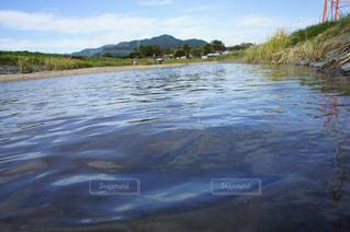 水面ギリギリの写真・画像素材[2064876]