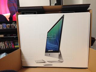 Macの箱の写真・画像素材[2065930]