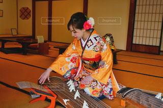 お琴の練習♡の写真・画像素材[2009741]