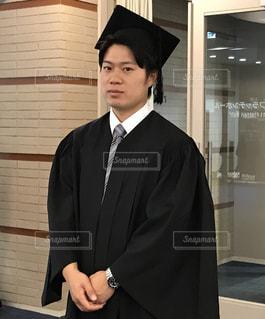 卒業式の写真・画像素材[2011403]
