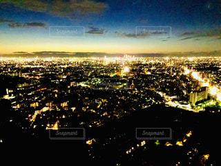 夜景の写真・画像素材[2011631]