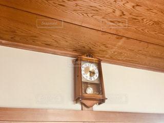 昭和の掛け時計の写真・画像素材[3111264]