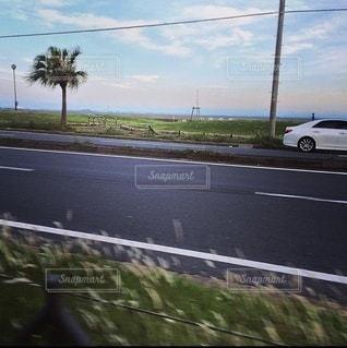 海岸沿いの道路の眺めの写真・画像素材[3485174]