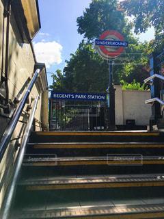 イギリスの地下鉄の写真・画像素材[2011657]