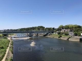 丸子橋からの風景の写真・画像素材[2116732]