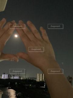 満月の写真・画像素材[3310264]