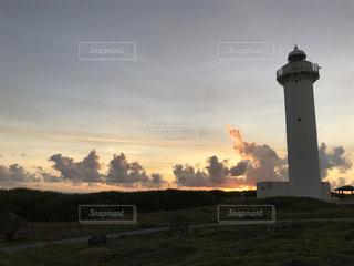 宮古島の灯台の写真・画像素材[2016653]