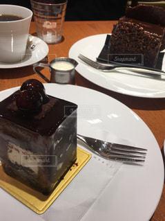 チョコレートケーキの写真・画像素材[2084123]