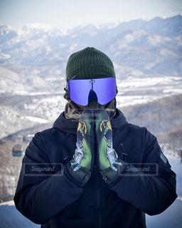 雪山の写真・画像素材[2013233]