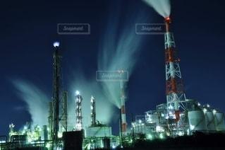 工場夜景の写真・画像素材[2769508]