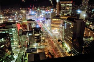 夜神戸の夜景の写真・画像素材[2817150]