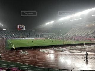 サッカー場  Jリーグの写真・画像素材[2019094]