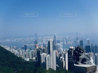 香港のビル群の写真・画像素材[2051541]