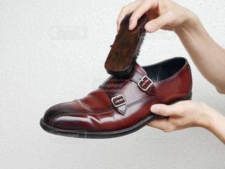 靴磨きの写真・画像素材[2288778]