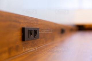 電源のとれるカフェの写真・画像素材[2064829]