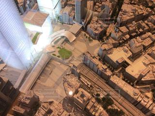 渋谷駅前の未来模型の写真・画像素材[2064839]