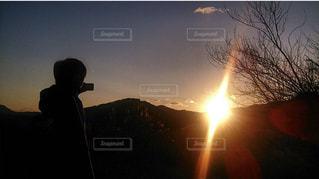 日の出の写真・画像素材[2031186]