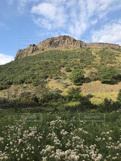 エディンバラの丘の写真・画像素材[2027981]