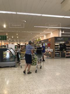スーパー 買い物の写真・画像素材[2028083]