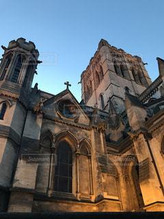 イギリスの教会の写真・画像素材[2038586]