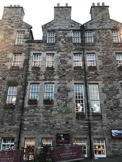 スコットランドのお洒落なアパートメントの写真・画像素材[2053624]