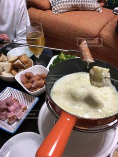 チーズフォンデュパーティーの写真・画像素材[2029658]