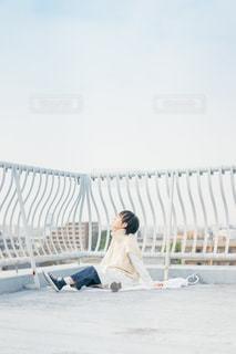 バイバイ青空また明日の写真・画像素材[2031054]