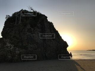 稲佐の浜の写真・画像素材[2036878]