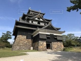 松江城の写真・画像素材[2036886]