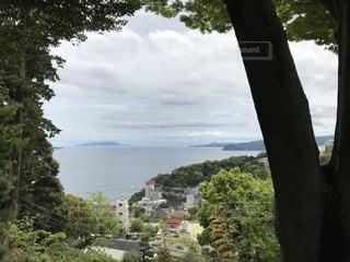 熱海 伊豆山神社から見た海の景色の写真・画像素材[2082627]