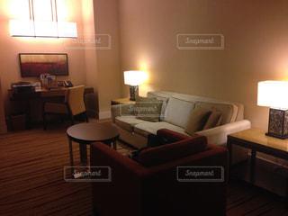 ホテルの部屋の写真・画像素材[2270210]