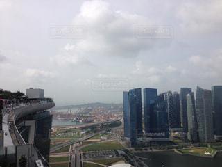 シンガポール 景色(マリーナベイサンズ屋上より)の写真・画像素材[2270213]