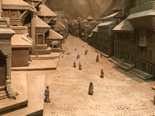 砂の美術館の砂像の写真・画像素材[2085896]