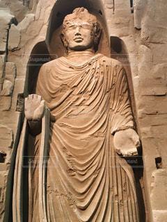 砂の美術館の砂像の写真・画像素材[2085904]