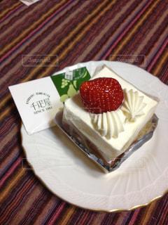 千疋屋のケーキの写真・画像素材[2090120]