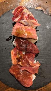 肉寿司の写真・画像素材[2570887]