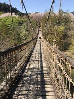 吊り橋の写真・画像素材[2036782]