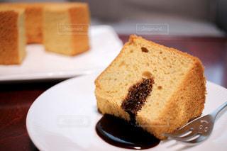 シフォンケーキの写真・画像素材[2462402]