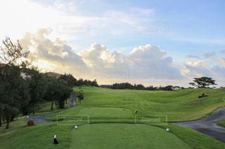 ゴルフコースの写真・画像素材[2826884]