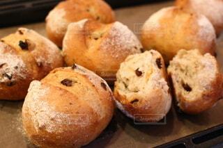 手作りパンの写真・画像素材[3859345]