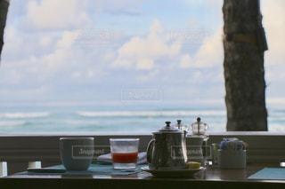 朝の優雅な時間の写真・画像素材[2243059]